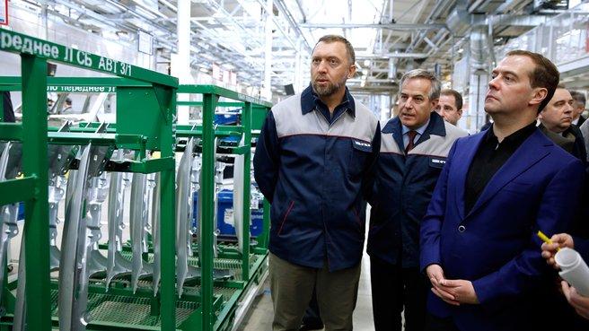 Посещение цеха сварки ОАО «Горьковский автомобильный завод»