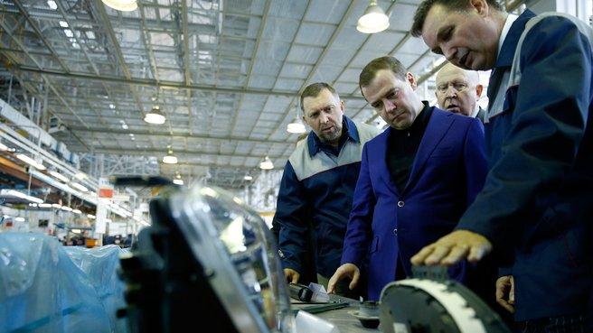 Посещение ОАО «Горьковский автомобильный завод»