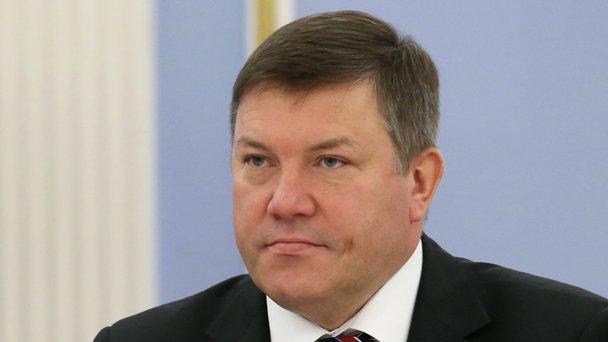 Vologda Region Governor Oleg Kuvshinnikov
