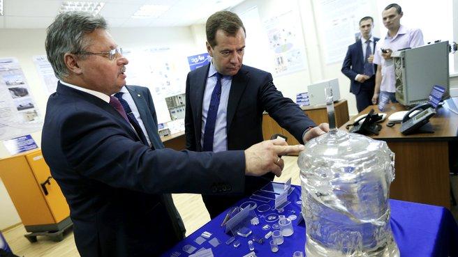 Посещение Бизнес-инкубатора Научного центра РАН