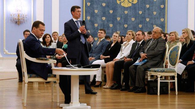 Выступление Министра труда и социальной защиты Максима Топилина