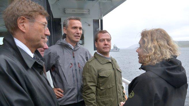 Морская прогулка по акватории фьорда Бёк