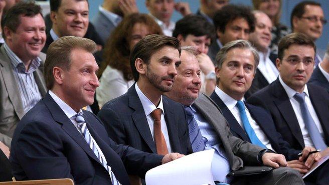 Выступление Первого заместителя Председателя Правительства Игоря Шувалова на встрече с членами Экспертного совета при Правительстве и представителями экспертного сообщества