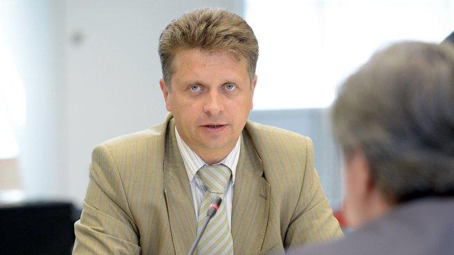 Глава Минтранса Максим Соколов на заседании президиума Совета при Президенте по модернизации экономики и инновационному развитию
