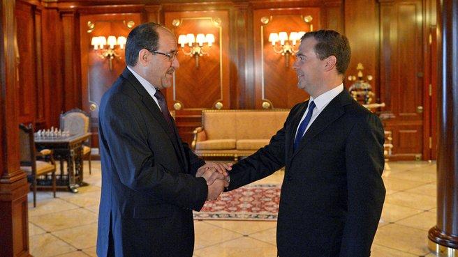 Переговоры Премьер-министром Ирака Нури аль-Малики