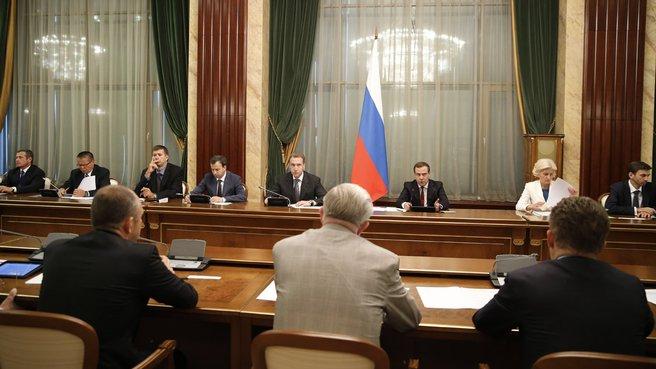 Встреча с членами бюро правления Российского союза промышленников и предпринимателей (РСПП)