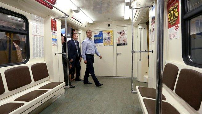 Посещение станции метро «Авиастроительная»