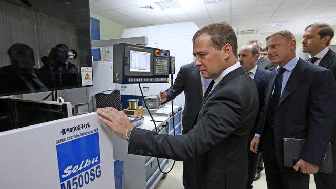 Посещение Государственного инжинирингового центра МГТУ «Станкин»