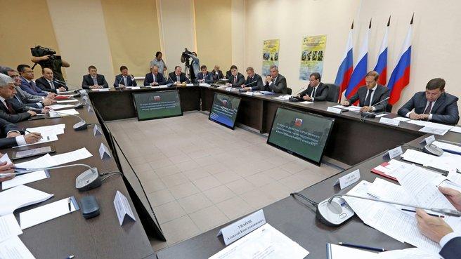 Совещание о мерах по развитию отечественного станкостроения в целях модернизации военно-промышленного комплекса