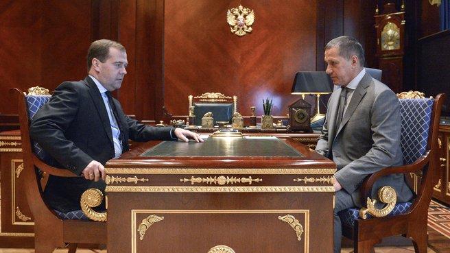 Встреча с Юрием Трутневым