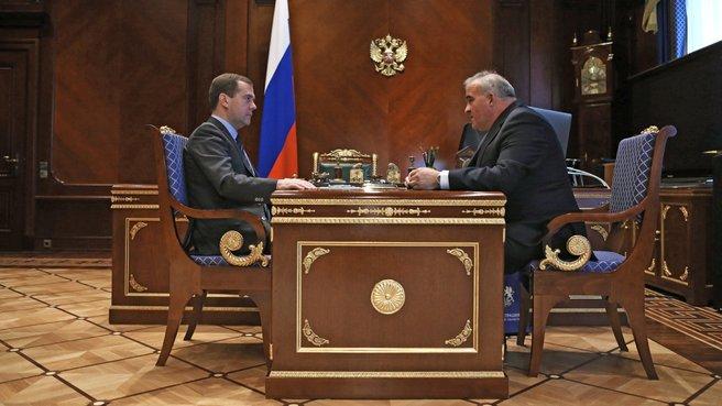 Рабочая встреча с губернатором Костромской области Сергеем Ситниковым