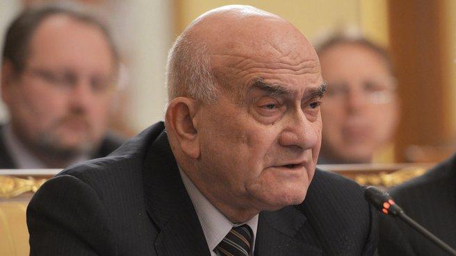 Научный руководитель Национального исследовательского университета «Высшая школа экономики» Евгений Ясин