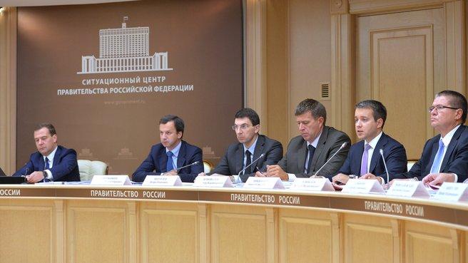Заседание Правительственной комиссии по использованию информационных технологий