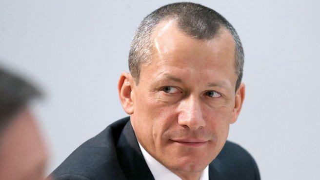 Ректор Московской школы управления «Сколково» Андрей Шаронов