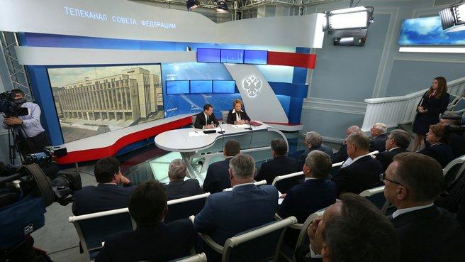 Встреча с членами Совета палаты Совета Федерации
