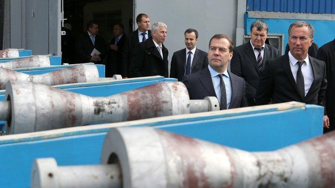 Посещение ООО «Климовский трубный завод»