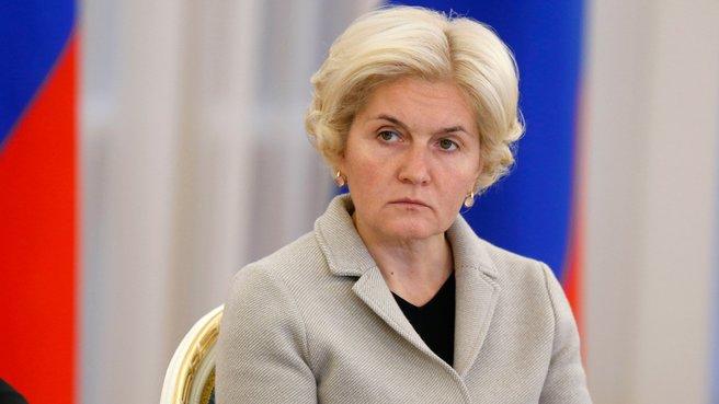 Заместитель Председателя Правительства Ольга Голодец