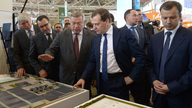Посещение 15-й российской агропромышленной выставки «Золотая осень»