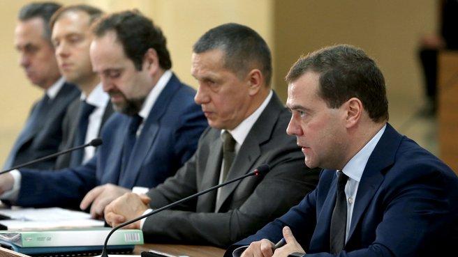 Заседание Правительственной комиссии по вопросам социально-экономического развития Дальнего Востока