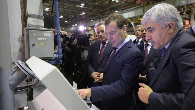 Посещение авиационного завода имени Ю.А.Гагарина