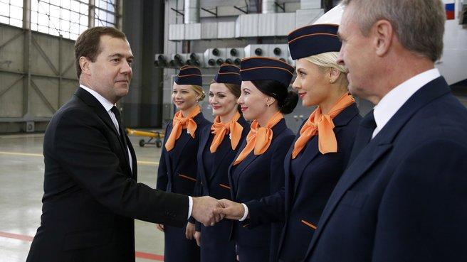 Презентация новой региональной авиакомпании «Аврора»