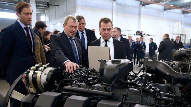 Посещение ОАО «Тутаевский моторный завод»