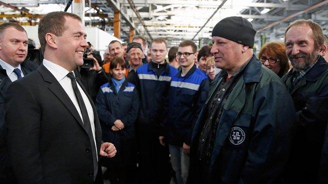 Беседа с работниками ОАО «Тутаевский моторный завод»