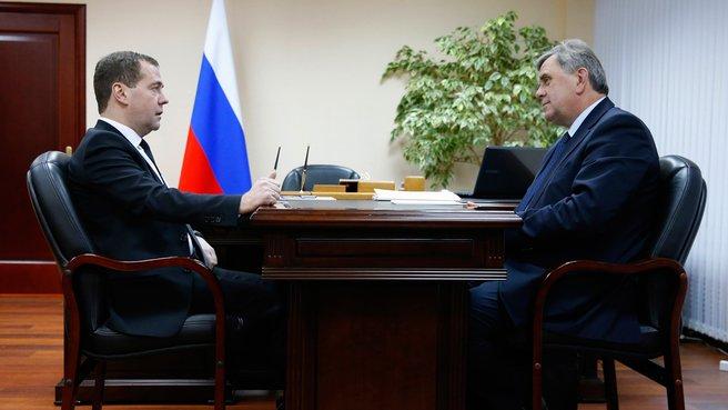 Встреча с губернатором Ярославской области Сергеем Ястребовым