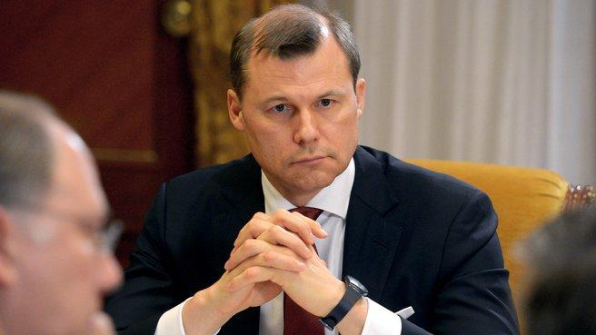 Генеральный директор ФГУП «Почта России» Дмитрий Страшнов