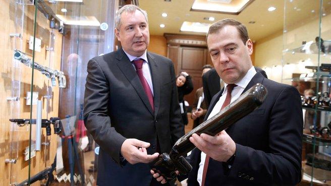 C заместителем Председателя Правительства Дмитрием Рогозиным