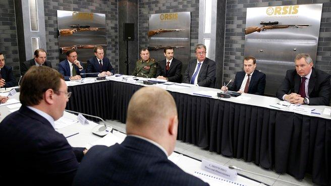 Совещание о государственно-частном партнёрстве в оборонно-промышленном комплексе