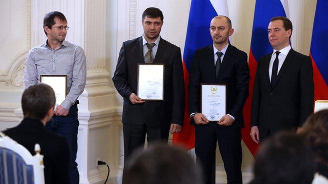 C лауреатами премии Правительства «За вклад в борьбу с коррупцией и преступностью в регионе»