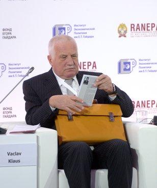 Бывший Президент Чехии Вацлав Клаус