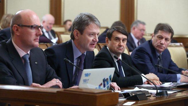 Выступление губернатора Краснодарского края Александра Ткачёва на заседании Правительства
