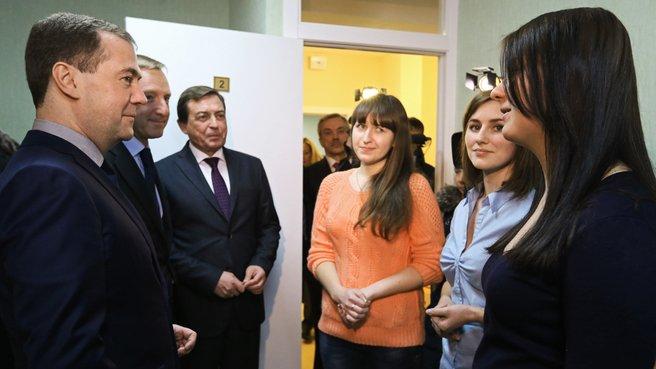 Посещение нового здания общежития Белгородского государственного национального исследовательского университета