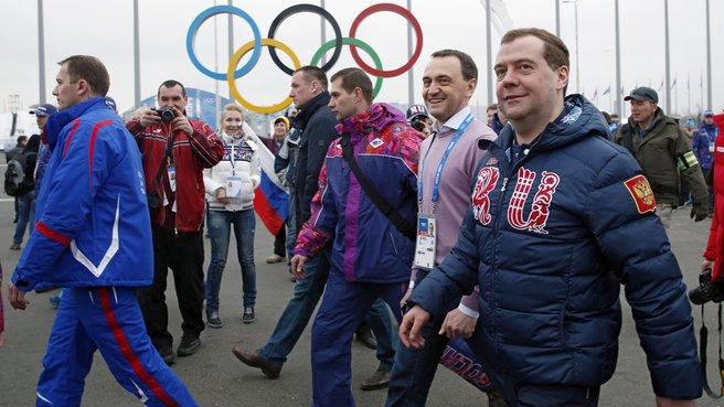 В Олимпийском парке Сочи