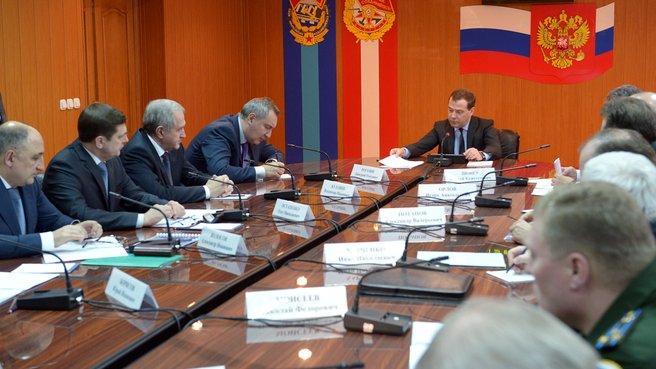 Рабочее совещание о ходе работ по созданию космического ракетного комплекса «Ангара»