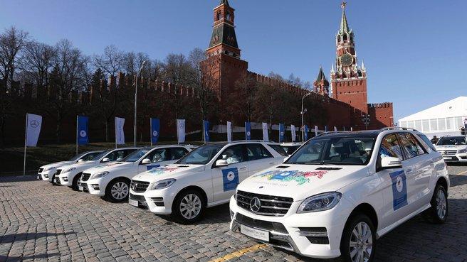Автомобили для победителей и призёров ХХII зимних Олимпийских игр 2014 года