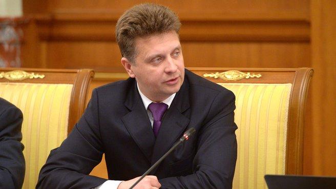 Глава Минтранса Максим Соколов