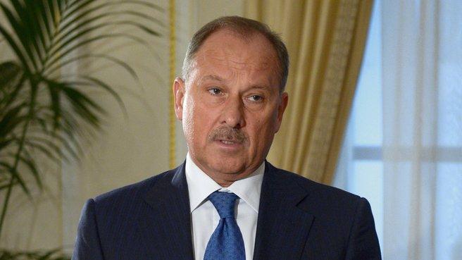 Брифинг главы Внешэкономбанка Владимира Дмитриева