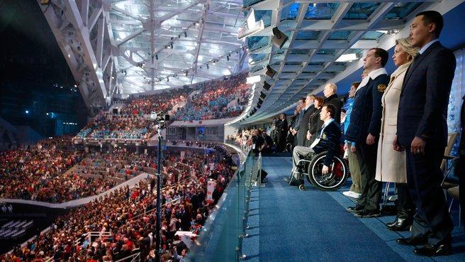 Открытие зимних Паралимпийских игр в Сочи 7 марта