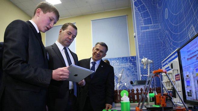 Посещение Казанского государственного энергетического университета