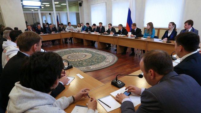 Встреча со студентами Казанского государственного энергетического университета