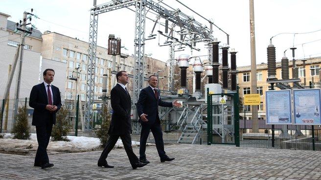 Осмотр Центра компетенций и технологий в области энергосбережения Казанского государственного энергетического университета