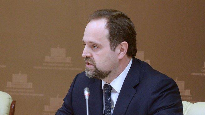Глава Минприроды Сергей Донской
