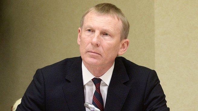 Руководитель Федеральной службы по гидрометеорологии и мониторингу окружающей среды Александр Фролов