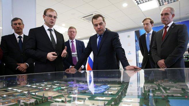 Презентация промышленной зоны «Заволжье»