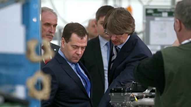 С генеральным директором ОАО «Соллерс» и ОАО «УАЗ» Вадимом Швецовым