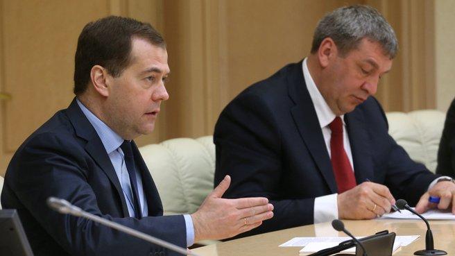 С Министром регионального развития Игорем Слюняевым