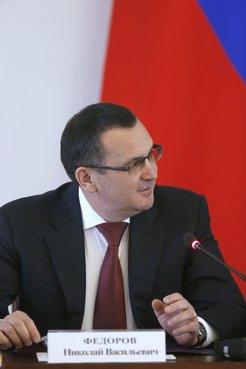 Глава Минсельхоза Николай Фёдоров